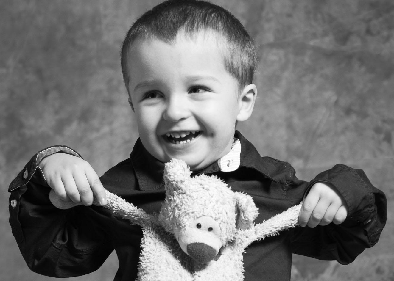 Rodinný fotograf Praha - Dětská portrétní fotografie