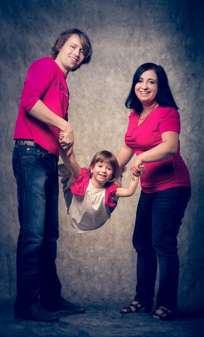 vanocni foto rodina