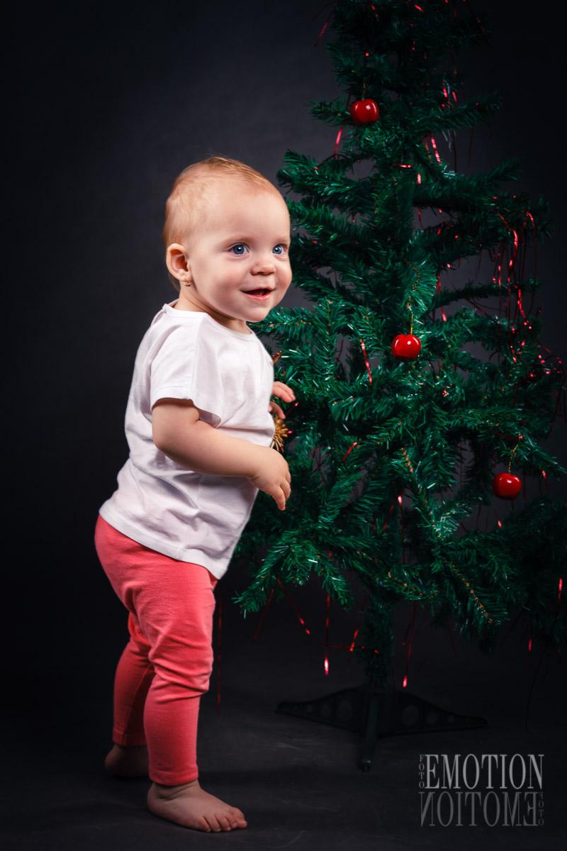 Vánoční focení dětí Praha