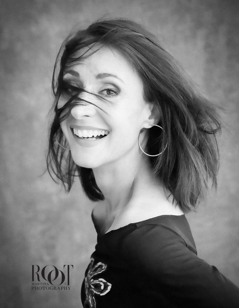 Umělecké fotografie rodiny a profesionální portrét