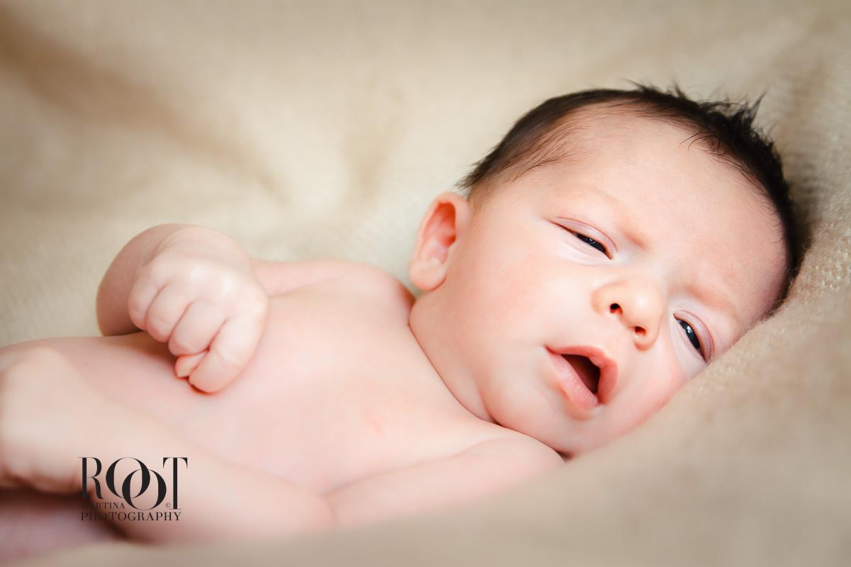 Umělecké fotografie newborn