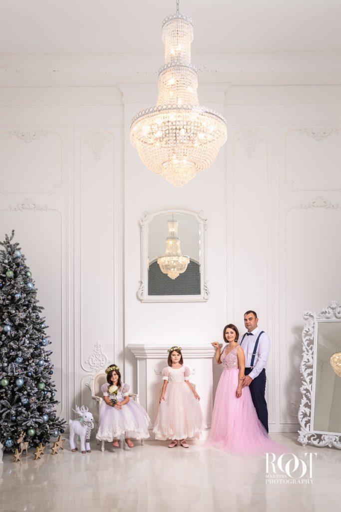 Luxusní fotografie rodiny pro media