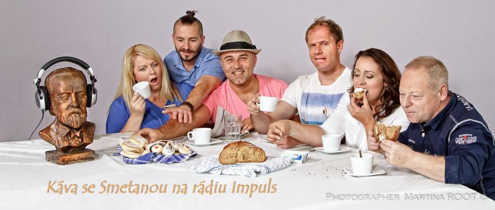 Reklamní foto radia Implus